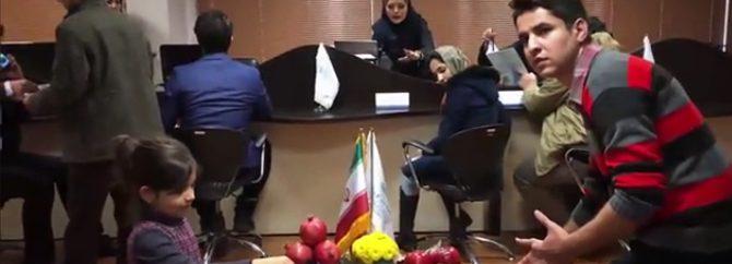 ویدیو/ چالش مانکن واحد فروش شرکت فالنیک (ایران اچ پی)