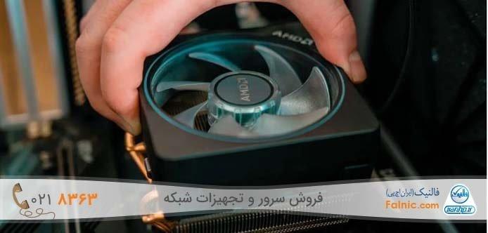 آموزش ویدیویی تعویض خمیر سیلیکون CPU در کامپیوتر و سرور