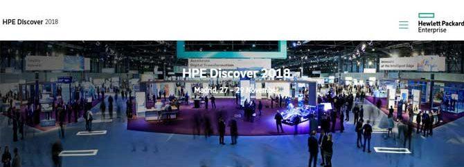 برگزاری کنفرانس HPE Discover 2018 در مادرید