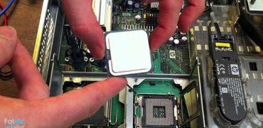 ویدیو/ آموزش تعویض خمیر سیلیکون CPU در سرور HP DL380 G9