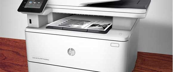 دریافت فکس از طریق کامپیوتر در پرینتر HP M426