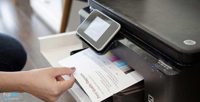 نوع کاغذ متناسب با پرینتر