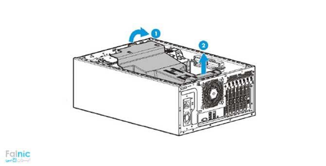 فن سرور HPE ML150 G9