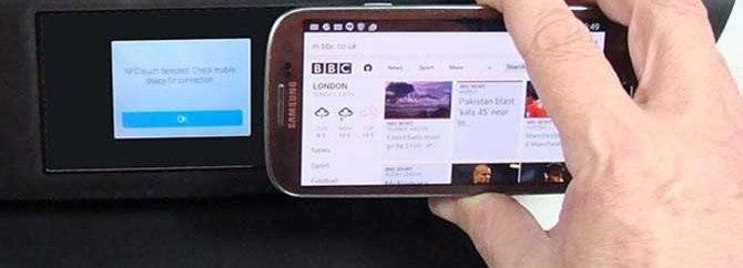چگونه از طریق تکنولوژی NFC پرینت بگیریم؟