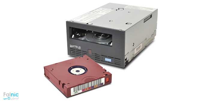 راهکار ذخیره سازی مبتنی بر Tape