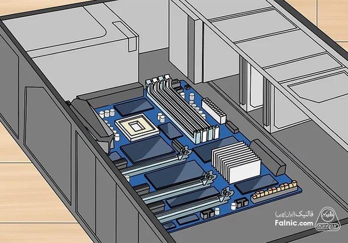 آموزش تعویض cpu کامپیوتر - مرحله 3