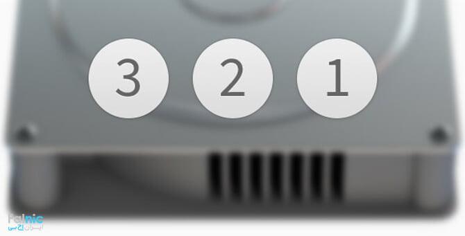 قانون 3-2-1 در بکاپ
