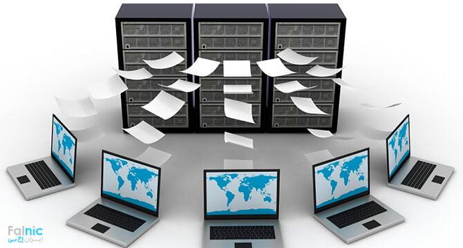 رول فایل سرور