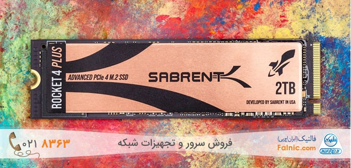 بهترین M.2 SSD های 2021 - Sabrent Rocket 4 Plus