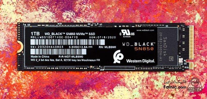 بهترین M.2 SSD های 2021 - WD Black SN850