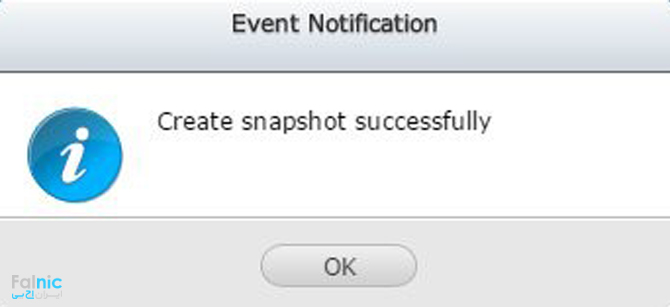 برگرداندن Snapshot در QNAP NAS