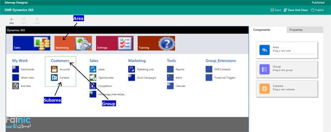 قابلیت app در Dynamics 365 Microsoft
