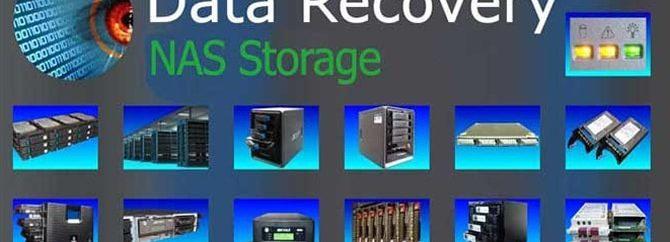 ریکاوری اطلاعات استوریج های NAS