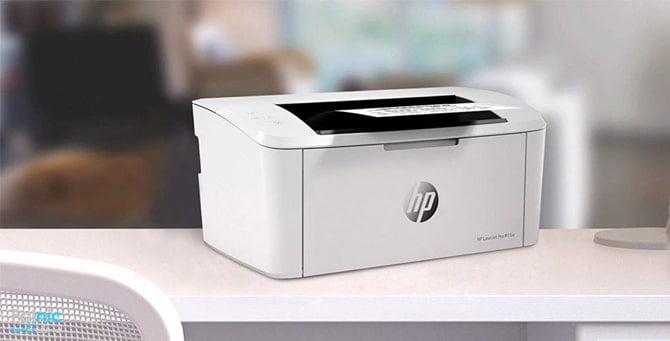 راه اندازی پرینتر HP m15w