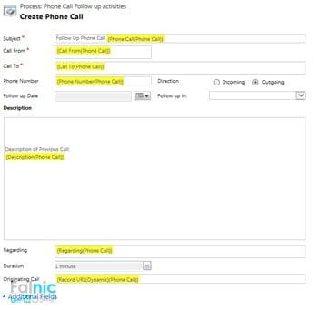 تماس پیگیری اتوماتیک در CRM