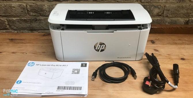 نصب پرینتر HP M15W با وایرلس
