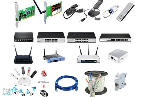 تجهیزات اکتیو و پسیو شبکه