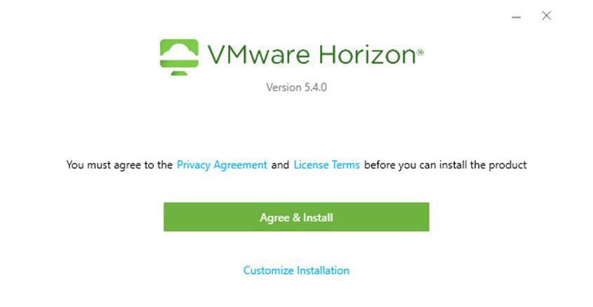 آموزش مرحله به مرحله نصب نرم افزار Horizon View Client