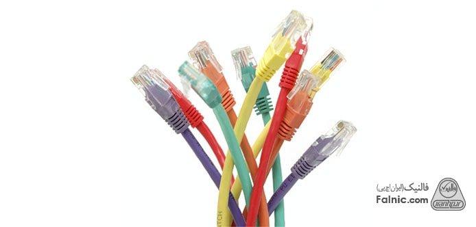 انواع کابل شبکه و کاربردهای آن ها