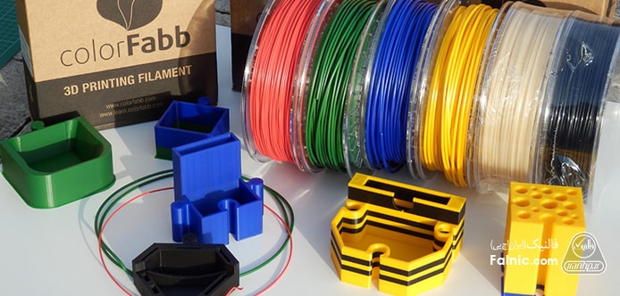 مواد اولیه پرینتر سه بعدی