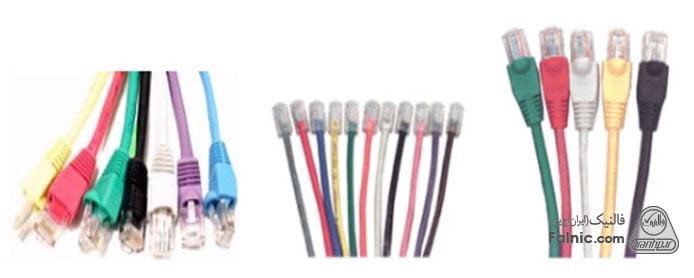 کاربرد رنگ های کابل شبکه