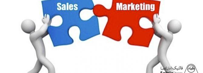 نقش بازاریابی و فروش بر عملکرد سازمان