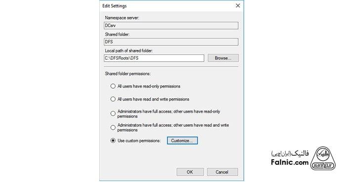 Use custom permissions