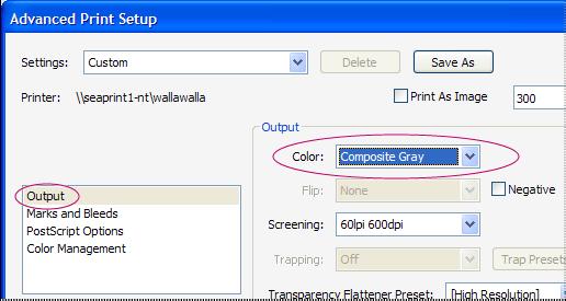 چگونه از فایل pdf پرینت سیاه سفید بگیریم