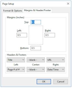 آموزش تنظیمات پرینت در فایرفاکس