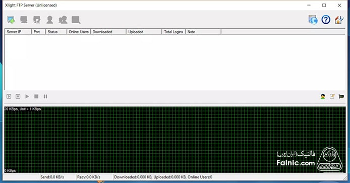 نرم افزار Xlight برای سرور ftp