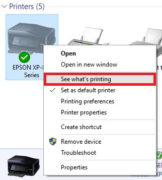 مشکل تکرار چاپگر
