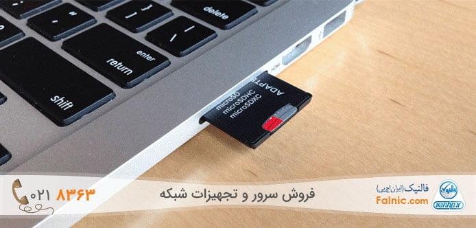 کارت خوان لپ تاپ یا SD Card reader