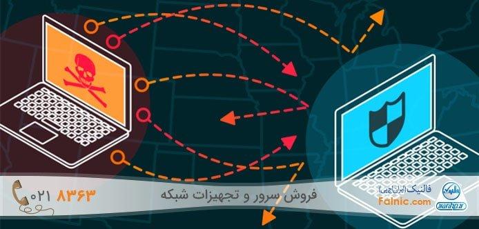 انواع حملات DDoS
