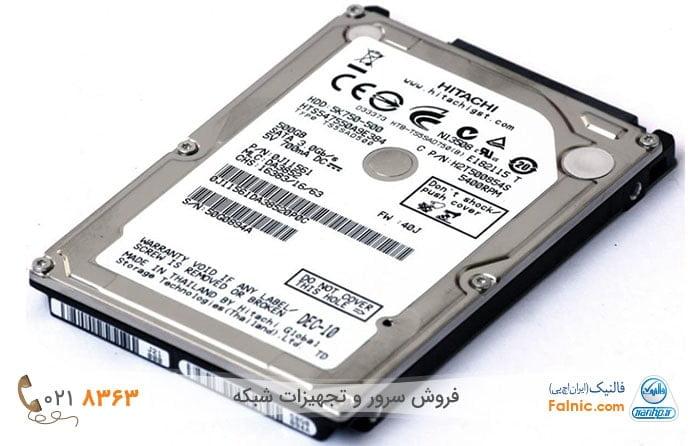 هارد لپ تاپ از نوع دیسک سخت یا HDD