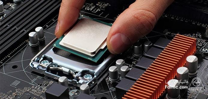 پردازنده یا واحد پردازش مرکزی لپ تاپ CPU