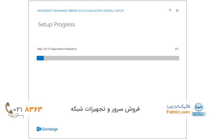 نحوه نصب و راهاندازی Exchange Server