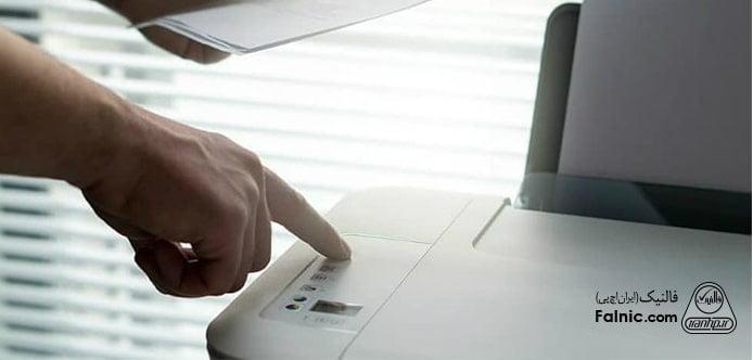 سفید چاپ کردن چاپگر