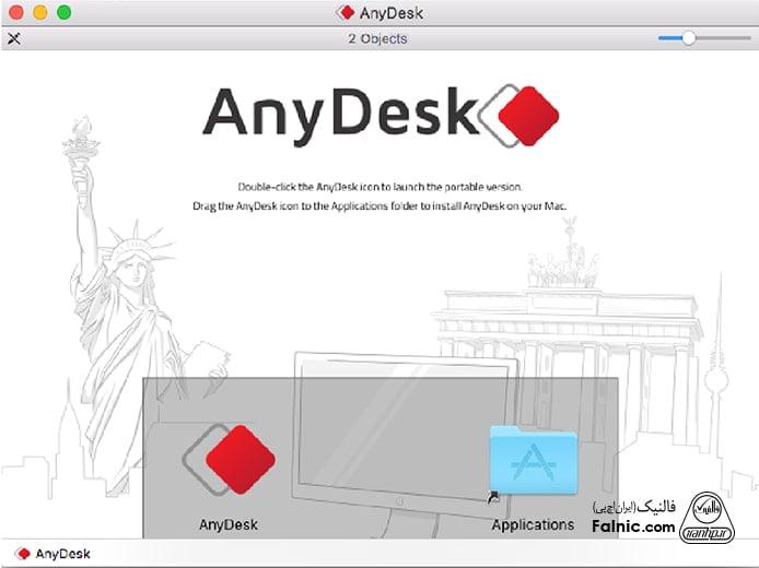 آموزش نصب anydesk روی mac os