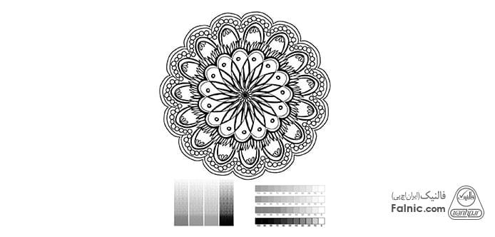 عکس برای تست پرینت سیاه و سفید
