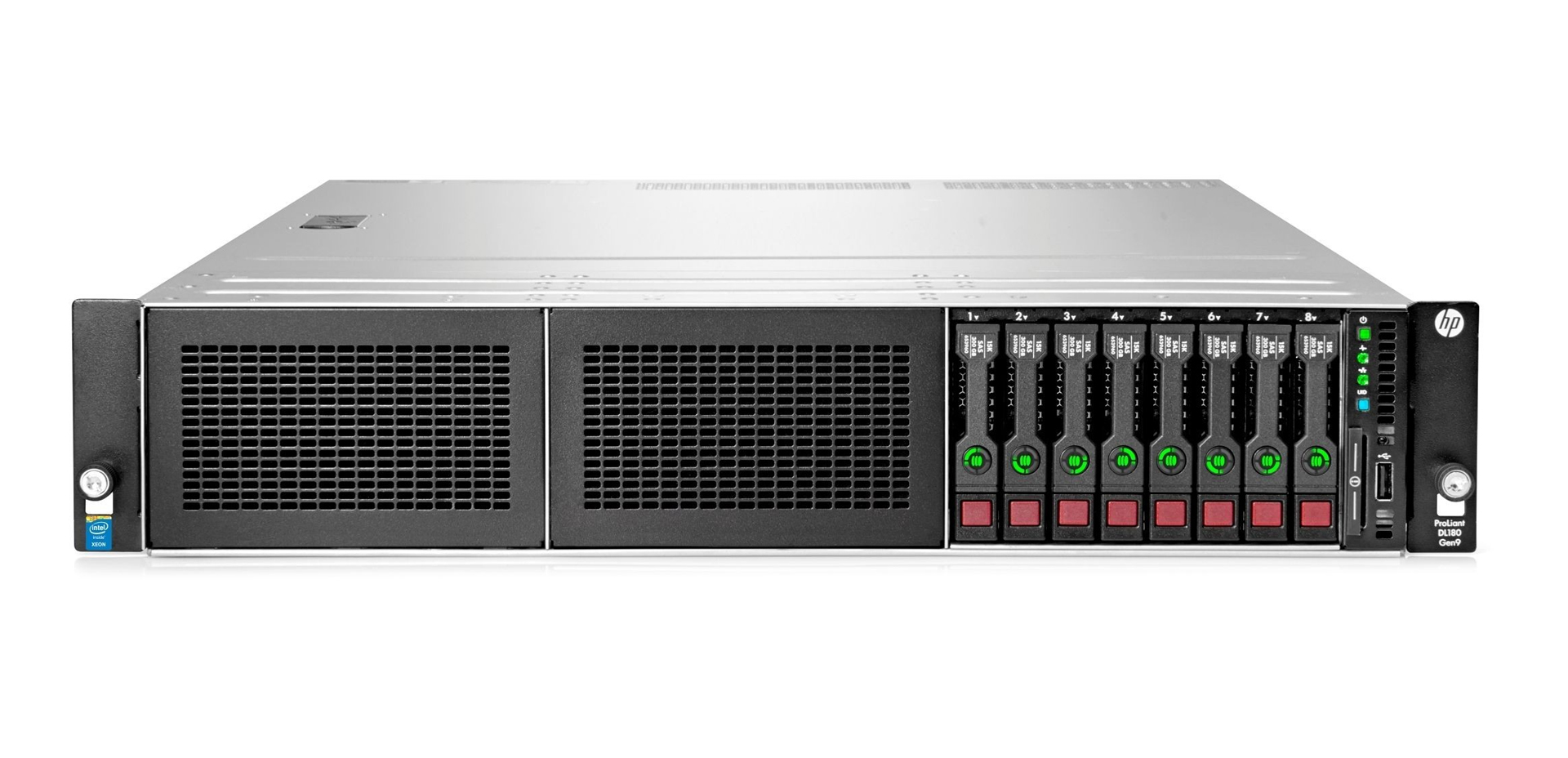 HPE ProLiant DL380 Gen9 Server 8SFF