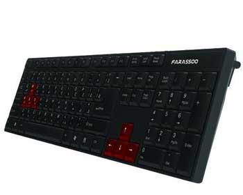 کیبورد فراسو مدل FCR-2240